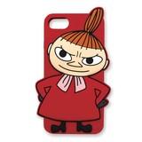 【ムーミン】iPhone7シリコンケース(リトルミイ)[557255]