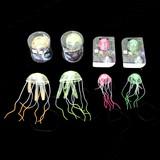 <光るおもちゃ・玩具><インテリア雑貨>蛍光ジェリーフィッシュ(クラゲ) Sサイズ ピンク