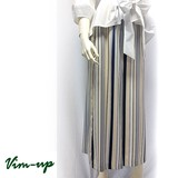 2017 S/S Multi Stripe wide pants