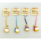 Japanese Style Crape Owl Strap Attached 5 Colors Assort