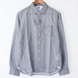 2017 S/S Men's Washer Checkered Long Sleeve Shirt