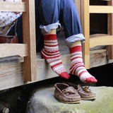 日本製・足袋ソックス ノルディック柄