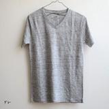 【Web展】(4月納品)◇リネンベーシックV ネックTシャツ◇