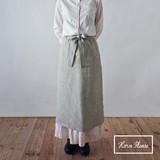 S/S Apron Skirt Apron Linen Calorie