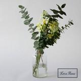 S/S Flower Vase Glass Line Flower Vase Bottle