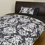 Damask Duvet Cover Bedspread Cover Pillow Case