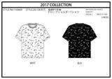 【2017春夏新作】半袖ドロップショルダーTシャツ(ペンキ)