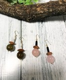 Mix Parts Pierced Earring