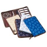 【ノートカバー】<オロビアンコ>ノートやワークツールをまとめて携帯◆A5・ファスナー付・2冊収容可能