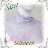 Silk Neck Long Type Neck Warmer Neck Cover Long