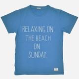 【Web展】(4月納品)【2017年春夏新作】ドローイングロゴ刺繍 半袖Tシャツ