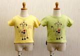 【2017年春夏新作】ロボットプリント 半袖Tシャツ