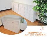 【ネット販売不可】【送料無料】ディズニー薄型チェスト 4段 4サイズ