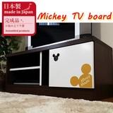 【ネット販売不可】【送料無料】ミニテレビ台 ミッキーチェスト(ビオラMickey Mouse)