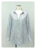 Sakizome Shearing Stripe Pullover Shirt