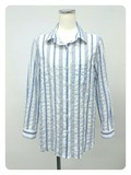 Sakizome Shearing Stripe Shirt