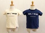 【2017年春夏新作】シンプルロゴ半袖Tシャツ