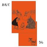 【ムーミン】パレット巾着(オレンジ)[132637]