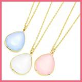 Milky Color Bijou Necklace