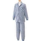 大きめボタンパジャマ