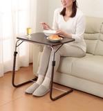 【直送可】【送料無料】角度調整付折りたたみテーブル(補強バー付)
