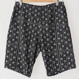 【2017年春夏新作】メンズ ミニ裏毛ジャカードショートパンツ<日本製>