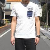 ☆17SSセール☆【2017春夏新作】JQDポケットステーショナリーTシャツ
