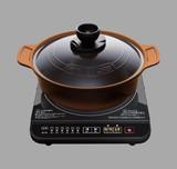 【調理・キッチン家電 IH】IHコンロ土鍋風無加水鍋セット IHKMP-3126DO