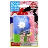 IWAKO Mt. Fuji Apprentice Geisha Blister Pack Eraser