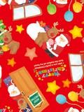 Christmas Wrapper Noel Half Sheet Whole Sheet