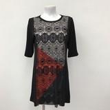 Spring Lace Color Scheme One-piece Dress