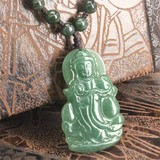 Natural stone Natural Jade Necklace Pendant FOREST