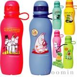 【北欧雑貨ムーミン】Moominシリコンボトル 人気の収納可能ボトル