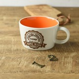 Kitchen Soup Mug Orange MINO Ware