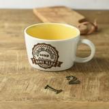 Kitchen Soup Mug Yellow MINO Ware