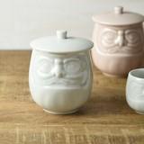 Daruma Attached Japanese Tea Cup MINO Ware