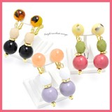 Colorful Mix Beads Earring