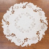 Embroidery Lace Series Doily Flower Vase