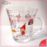 Little Red Riding-Hood Attached Glass