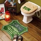 Cozydoors トイレ2点セット Outdoor 洗浄暖房用