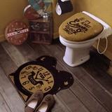 Cozydoors トイレ2点セット Eleven o'clock 洗浄暖房用