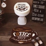 Cozydoors トイレ2点セット Hot Coffee UO用