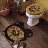 Cozydoors トイレ2点セット Eleven o'clock UO用