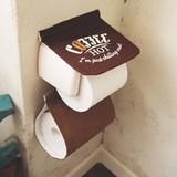 Cozydoors ペーパーホルダーカバー Hot Coffee