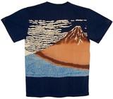 【大きいサイズあり】【期間限定セール 85%OFF  】和柄 Tシャツ 「赤富士」