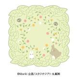 【となりのトトロ】ミニタオル(木の葉の傍ら/グリーン)[613650]
