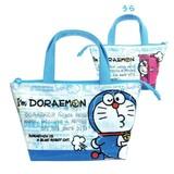 【ドラえもん】レイヤー保冷ランチバッグ(アップ)★I'm Doraemon★[056125]