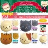 【予約商品】7月発売予定ぷにぷにスクイーズ SQUISHY cafe SAKURA ネコパン CAT