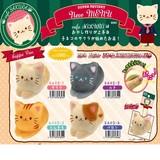 【予約商品】7月発売予定ぷにぷにスクイーズ SQUISHY cafe SAKURA ネココッペパン CAT