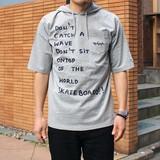 【2017春夏新作】ポートレイトフードTシャツ